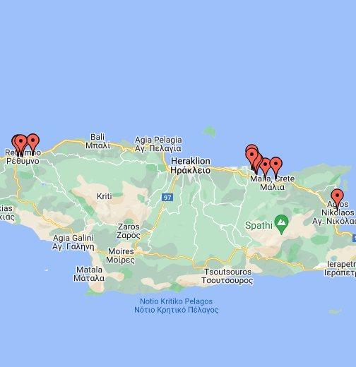 grcka mapa google KRIT   Google My Maps grcka mapa google