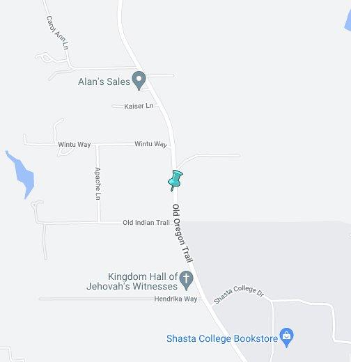 Shasta College - Google My Maps