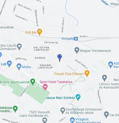google térkép tatabánya Gál Gyógyszertár, Tatabánya – Google Saját térképek