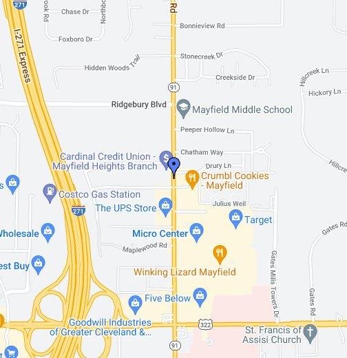 Five Guys Restaurant   Google My Maps