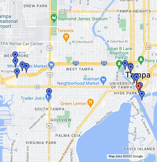 Hotels Google My Maps