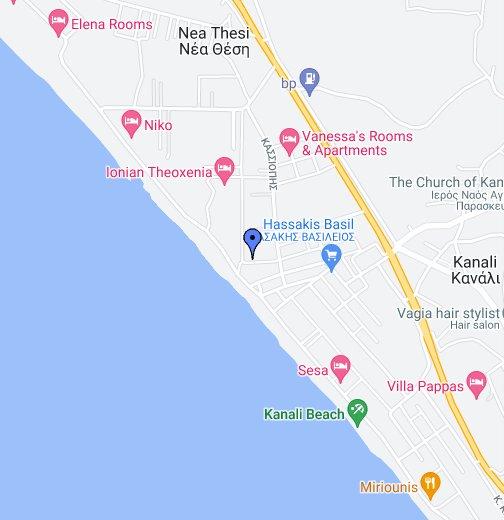 preveza grcka mapa Kanali   Preveza   Google My Maps preveza grcka mapa