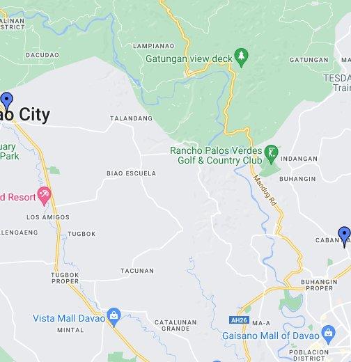 Davao City - Google My Maps on