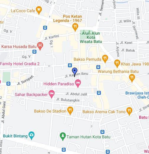 Kota Batu Google My Maps
