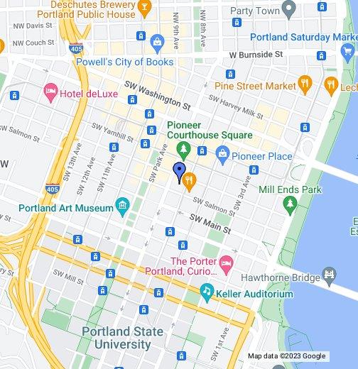 Portland, Oregon - Google My Maps