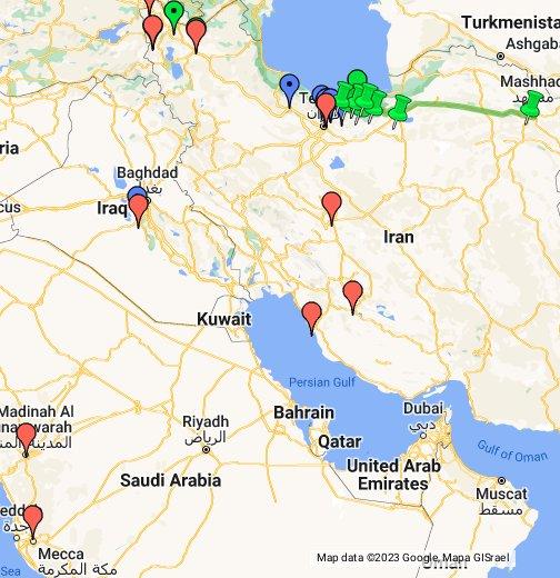 Dawn-Breakers - Google My Maps on global map of iraq, google maps jordan, landmarks of iraq, political map of iraq, google maps north korea, google maps serbia, street view of iraq, printable map of iraq, satellite view of iraq, typography of iraq, places of iraq, satellite map of iraq, home of iraq, google maps north africa, google maps egypt, google maps armenia, linguistic map of iraq, detailed map of iraq, google earth iraq,