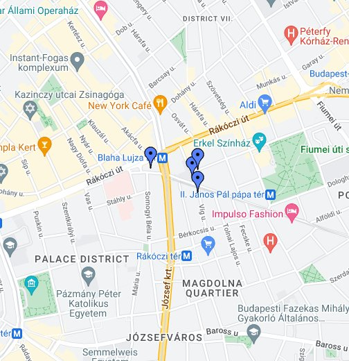 budapest astoria térkép Chinatown Restaurant – Google Saját térképek budapest astoria térkép