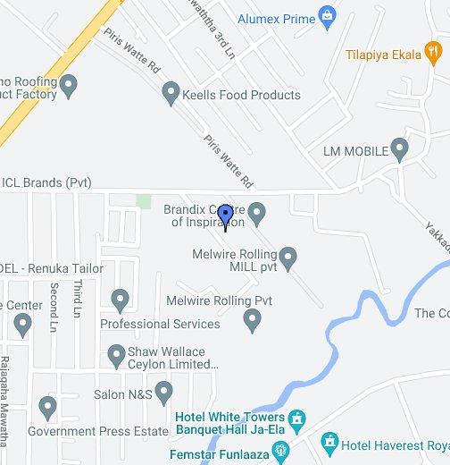 Melwire Group Factory - Ja-ela - Google My Maps