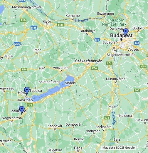 google térkép baja Gyenesdiás   Google My Maps google térkép baja