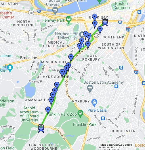 WalkBoston - Southwest Corridor Park - Google My Maps on google earth boston, google weather boston, topo map boston, walk score boston, print out map of boston, mapquest boston, map of tremont street boston, detailed map of downtown boston, google massachusetts, high street map of downtown boston, directions to boston,