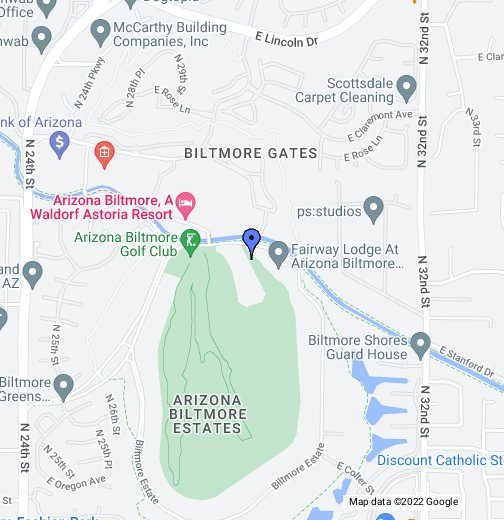 Arizona Biltmore - Google My Maps