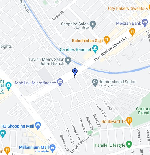 Aptech Gulistan-e-Johar Center - Google My Maps