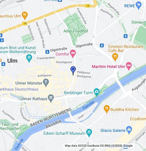 Ulm Germany – Ulm Germany Map