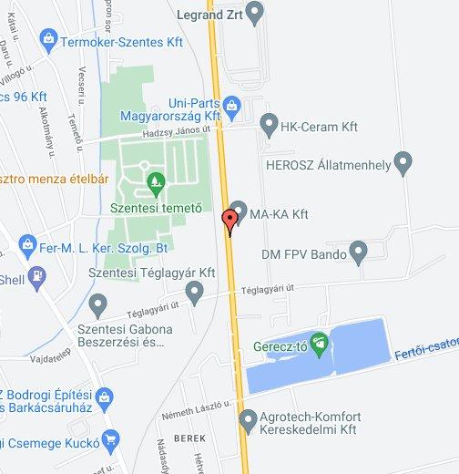 szentes térkép google Szentes, Magyarország – Google Saját térképek