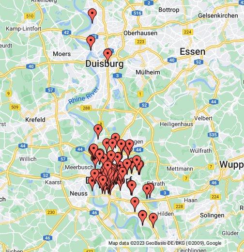 medienhafen düsseldorf karte Düsseldorf – Google My Maps