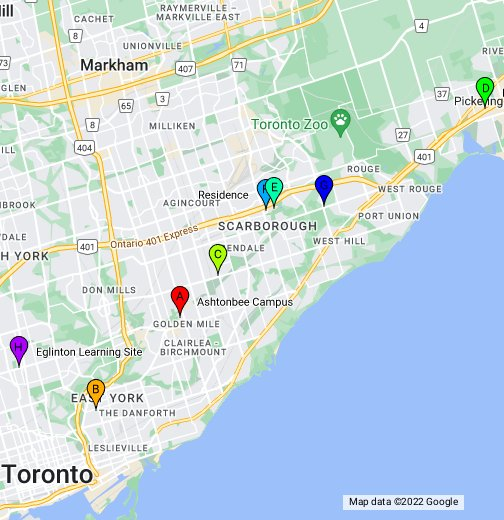 Morningside College Campus Map.Centennial College Campus Locations Google My Maps