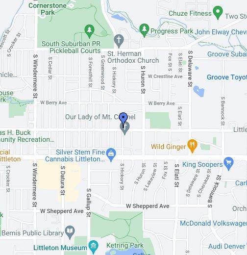 Littleton Co Google My Maps