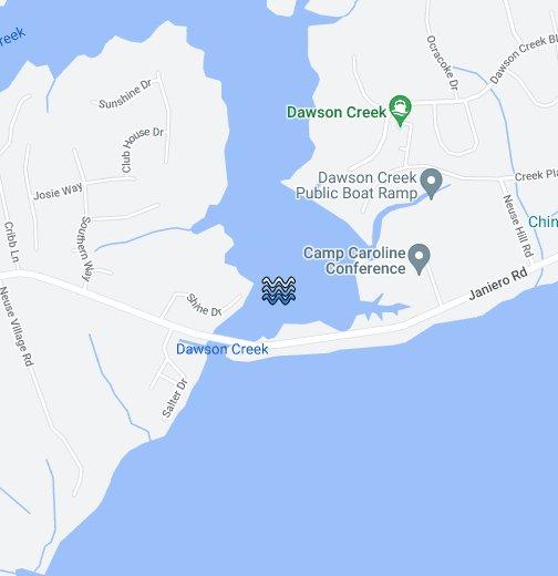 Dawson Creek Map Dawson's Creek   Google My Maps