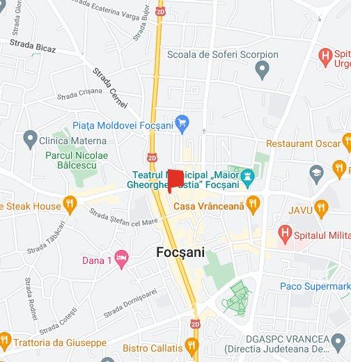 Focsani - Focşani map