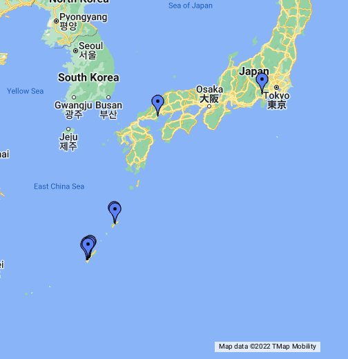U S  Military Bases in Japan - Google My Maps