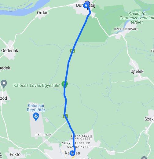 zagyvaszántó térkép Dunapataj   Google My Maps