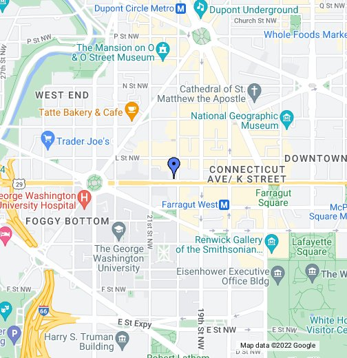 McGuireWoods LLP - Washington, D.C. - Google My Maps