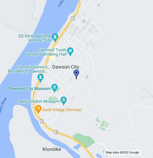 Dawson City, Yukon Territory   Google My Maps