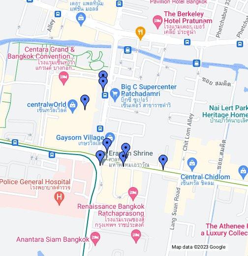 Bangkoks hindu shrines google my maps gumiabroncs Image collections