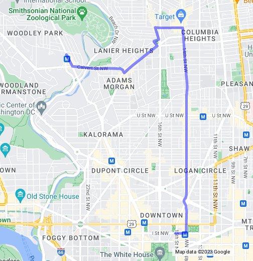 New Circulator route - Google My Maps