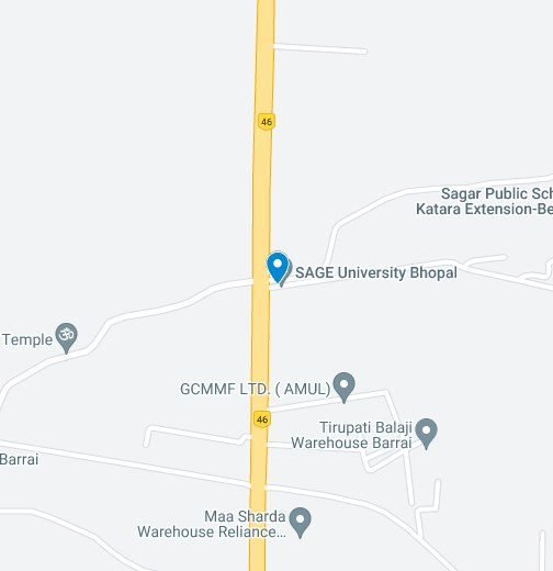 Top University in Central India – Google My Maps