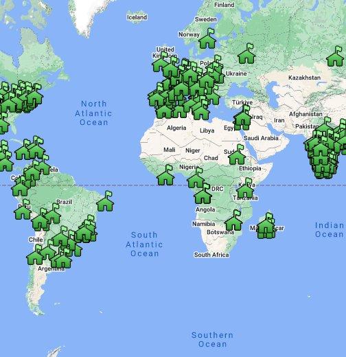Loyola Blakefield Campus Map.Jesuit Network Map Google My Maps