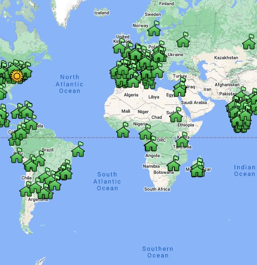 Jesuit Network Map Google My Maps