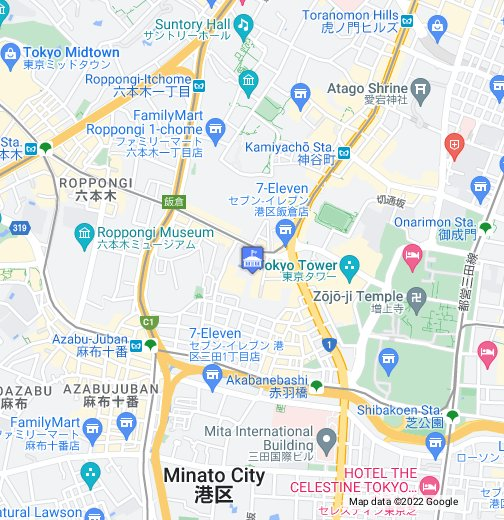 Russia Embassy Tokyo - Google My Maps