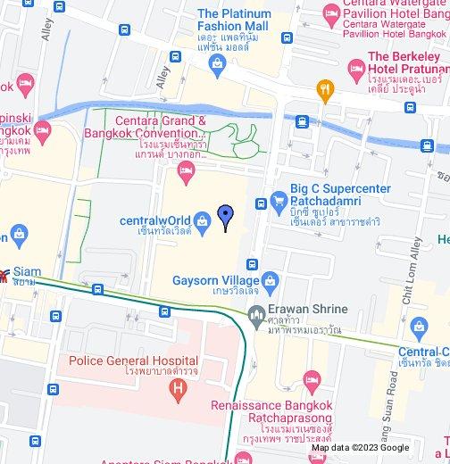 Central World Plaza   Google My Maps