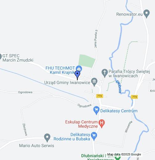 Techmot Iwanowice Moje Mapy Google