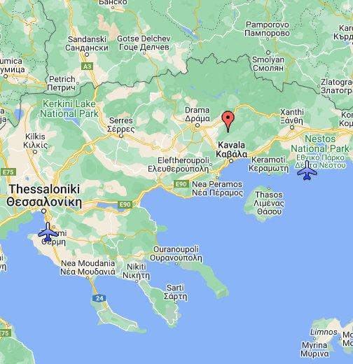 kavala mapa Greece   Google My Maps kavala mapa