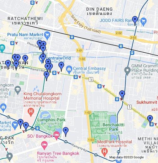 Main shopping areas bangkok google my maps gumiabroncs Image collections