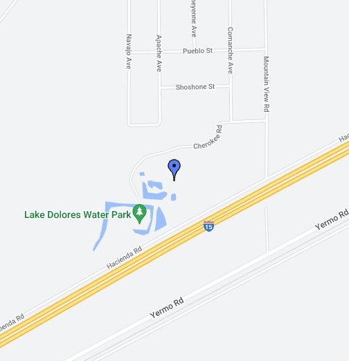 Rock a Hoola abandoned water park - Google My Maps