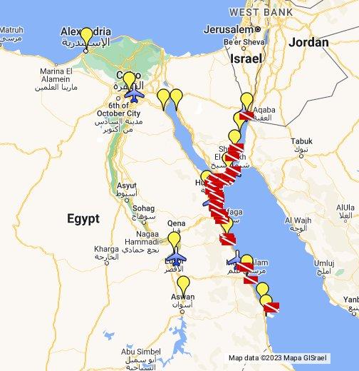 Red Sea Egypt Google My Maps
