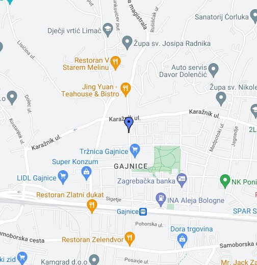O S Dragutin Domjanic Gajnice 31 Google Moje Karte