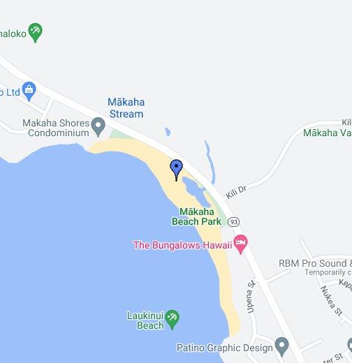 Makaha Beach Park - Google My Maps on honolulu neighborhood map, honolulu county map, pahoa map, kapaa map, kaha lani map, laie map, hawaiian paradise park map, north kohala map, lanikai map, waianae map, kahala map, sunset map, waipahu map, makawao map, mililani map, honolulu bus route map, hawaiian beaches map, pauoa valley map, punaluu map, aina haina map,