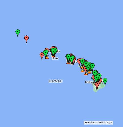 Hawaii Summits - Google My Maps