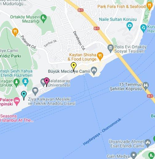 Hotels on the Bosphorus in Istanbul, Turkey - Google My Maps on jerusalem map, baghdad map, naples italy map, turkey map, black sea map, moscow map, novorossiysk map, romania map, oslo map, madrid map, casablanca map, constantinople map, dardanelles map, kabul map, mediterranean sea map, dubai map, tehran map, ottoman empire map, cordoba map, ankara map,