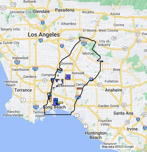 Long Beach, South East Los Angeles (Eastern Part) - Crips ... on los angeles gang map, chicago gang territory map, san diego county gang map, ms-13 gang map, milwaukee gang map, hackney london map, orange gang map, denver gang map, detroit gangs map, google maps washington dc, south central gang map, united states gang map, new york city gang map, atlanta gang map, portland gang map, lapd gang map, milwaukee neighborhood map, la street gangs map, gta 5 gang map, bloods and crips territory map,