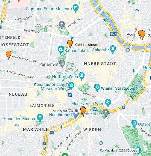 Wiedeń - Google My Maps