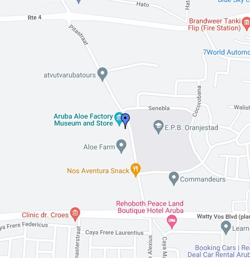 Aruba Aloe Factory & MuseumUntitled - Google My Maps