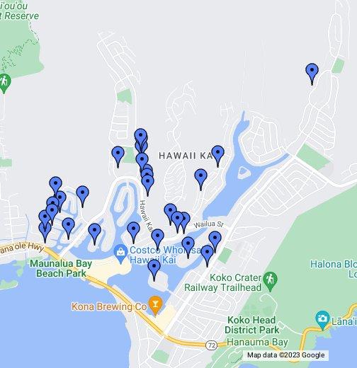 Hawaii Kai Condos - Google My Maps