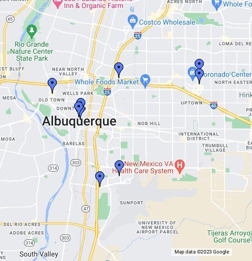 Albuquerque Hotels - Google My Maps on mapquest albuquerque, area code map albuquerque, photography albuquerque, paradise hills albuquerque, zillow albuquerque, microsoft albuquerque,