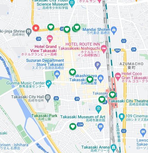 ハモクリライブの前後で行きたいお店♪ - Google マイマップ