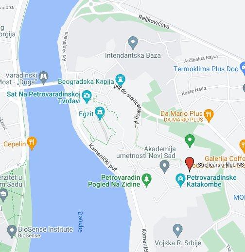 dolovo mapa Strelicarski klub NS 2002, Novi Sad   Google My Maps dolovo mapa